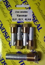 Zinc Anode kit 6LY's - 4LHA's - 6LP's